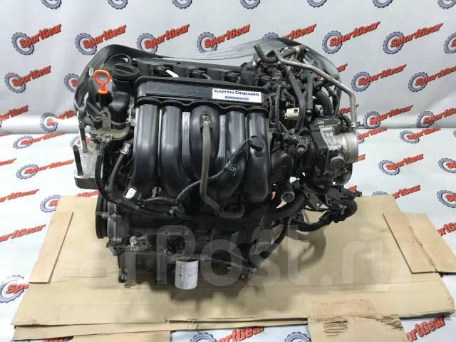 Двигатель LEB Honda Fit GP6/GP5 №89 Hybrid Пробег 78558км