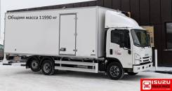 Isuzu NQR. Рефрижераторный фургон 12T, 5 190куб. см., 7 200кг.