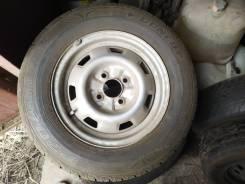 Одно колесо с диском и одно без диска 175 70 13