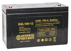 GS General Security. 100А.ч., Обратная (левое), производство Китай
