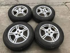 185/65 R15 Bridgestone Revo GZ литые диски 4х100 (L37-1503)