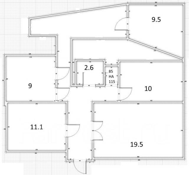 4-комнатная, улица Вавилова 16. Кировский, частное лицо, 79,0кв.м.