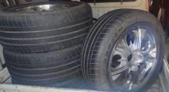 Продам комплект летних колёс на литых дисках, Nissan Infiniti
