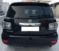 Бампер задний Nissan Patrol Y62 2010-2014