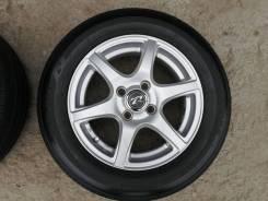 Летние шины 165/70R14 на литых дисках