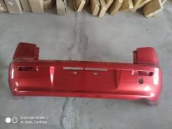 Бампер задний Mitsubishi Lancer Х. новый, красный