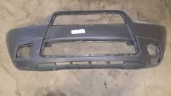 Бампер передний Mitsubishi ASX (2010-2012) без омывателя фар (дефект)