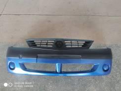 Бампер Renault Logan 05-10 г. в. новый, синий