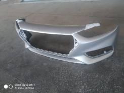 Бампер Hyundai Solaris 17-20 г. в. новый, серебристый