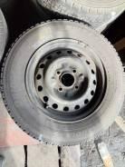 Резина 165/R14 LT 6PR зима Bridgestone 2шт 90%, 2шт 20% + диск 4x114,3