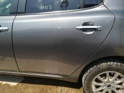 Дверь задняя левая Nissan Leaf AZE0 (№4103)
