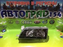 Фара левая Toyota Corolla 97-02 черный хрусталь