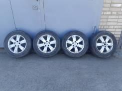 Колёса в сборе 215/65r16 nissan диски оригинальные, шины Yokohama