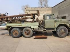 ЗИЛ 131. ЗИЛ-131 Буровая установка ПБУ-50, 6 000куб. см.