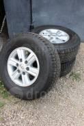 Колеса Goodyear Wrangler на дисках Toyota 255/70 D15