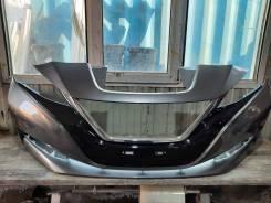 Передний бампер на Nissan Leaf ZE1