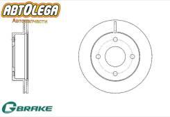 Диск тормозной перед. вентилируемый G-brake Nissan March (K11) GR-20832