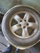 Летние колеса: шины 215/60R16 Данлопп на литье 5x114,3