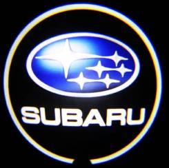Подсветка обшивки двери. Subaru