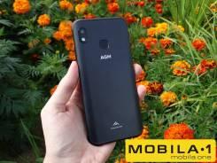 AGM A10 Pro. Новый, 64 Гб, Черный, 3G, 4G LTE, Dual-SIM, Защищенный, NFC