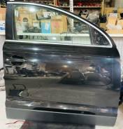 Дверь передняя правая Audi Q7 4L, чёрная (LZ9Y). В сборе.