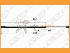 Амортизатор крышки багажника BMW X3 04-10 SAT / ST51243400379