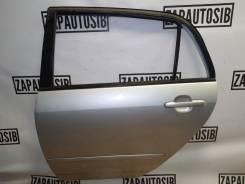 Дверь Toyota Runx 2002 [6700413300] NZE121, задняя левая цвет 199
