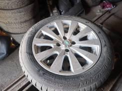 Продаю комплект летних колёс на литых дисках