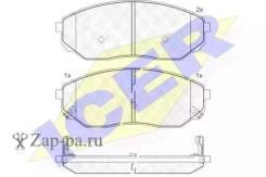 Колодки дисковые передние KIA Sorento 2.4-3.5i/CRDi 02 ICER 181606 181606_ 181606