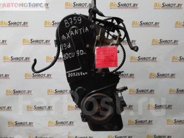 Двигатель Citroen Xantia I 1994, 1.9 л, Дизель (10CU9D4006852)