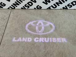 Подсветка обшивки двери. Toyota Land Cruiser, FZJ100, FZJ105, GRJ200, HDJ100, HDJ100L, HDJ101K, HZJ105, HZJ105L, URJ200, URJ202, URJ202W, UZJ100, UZJ1...