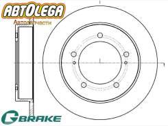 Диск тормозной передний G-brake Suzuki Jimny JB43W JB23W (05-) GR-01904