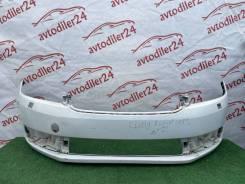 Бампер передний Skoda Rapid 60U807221 С отверстиями под фароомыватель