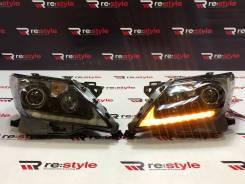 Фары Lexus LX570 (J200) 2012-2015 Темные Качество