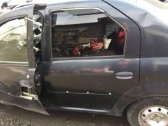 Дверь боковая задняя левая Renault Logan 2004 - 2016