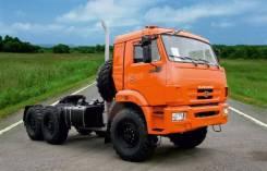 КамАЗ 53504. Седельный тягач вездеход на шасси КамАЗ 43118, 11 762куб. см., 12 700кг., 6x6
