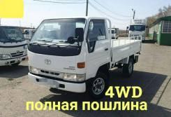 Toyota ToyoAce. 4WD, бортовой, 3 000куб. см., 1 500кг., 4x4