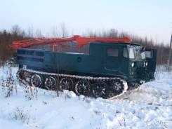 КМЗ АТС-59. Продам машину бурильную на базе тягача АТС 59, 39 000куб. см.