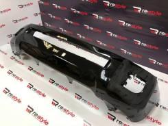 Бампер передний Toyota Land Cruiser 200 2м 12-15г Черный