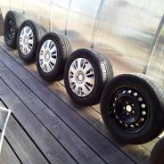 Продам колеса летние триангл 4 колеса 195/65/15 высота протектора 6мм