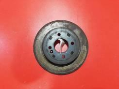 Тормозной диск Kia Rio 2014 [584110U300] QB G4FA, задний 584110U300