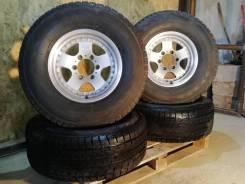 Комплект колёс: зима Yokohama 275/70 +легендарное литьё CV645 на 16