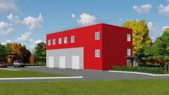 Продается земельный участок с проектом здания р-н аэропорта. 760кв.м., собственность, электричество