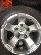 Продам комплект оригинальных колес на Toyta Land Cruiser с резиной Yok
