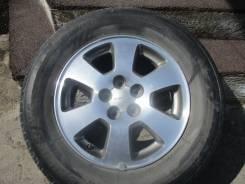 Оригинальные диски Subaru на Bridgestone Nextry 205/70R15