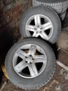 Subaru диски и шины Bridgestone Revo GZ 215/60R16