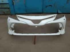 Бампер передний Toyota Camry 70 Камри 18-20г
