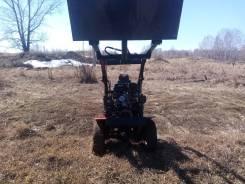 Самодельная модель. Продам самодельный мини-трактор сочлененник., 9,00л.с.