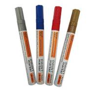 Маркер-краска цвет синий, ширина линии 2-4мм, (шт.)
