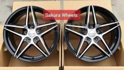 "Sakura Wheels. 7.5x17"", 5x100.00, ET42, ЦО 73,1мм. Под заказ"